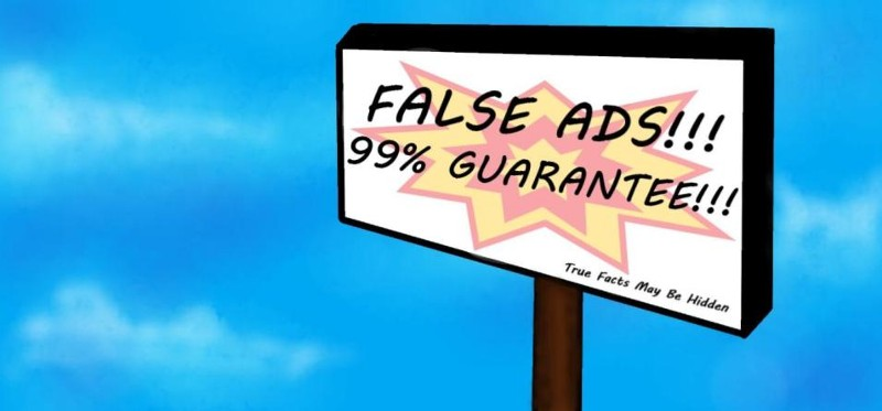 The Secrets Behind False Advertisements